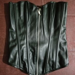 Nwot leather corset